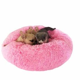 ペットベッド カウチベッド 寝具 猫ベッド ドーム型 ボリューム ペットグッズ ハウス 犬小屋 もこもこ 全10色 秋冬 防寒 サイズ3XL 外径110cm ビッグサイズ