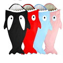 ベビー寝袋 新生児 赤ちゃん サメ型寝袋 ベビーカー用 スリーピングバッグ 空調対策 ベビー布団 お泊まり保育 出産祝…