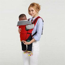 抱っこ紐 新生児 スリング 対象月齢3ヶ月〜36ヶ月 対面抱っこ/前向き抱き/おんぶ 手洗い可能 コットン 通気性が良い 出産祝い