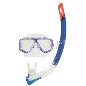 スイムセットY ブルー YD-582【ゴーグル 水中眼鏡 プール 海 海水浴 スノーケル シュノーケル セット】