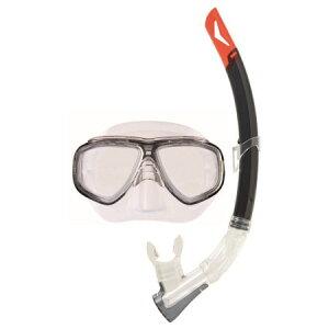 スイムセットY スモーク YD-582【ゴーグル 水中眼鏡 プール 海 海水浴 スノーケル シュノーケル セット】