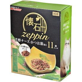 懐石 zeppin 11歳以上用 芳醇チーズ・かつお節添え 200g【日清ペットフード ペット フード キャットフード ドライ】