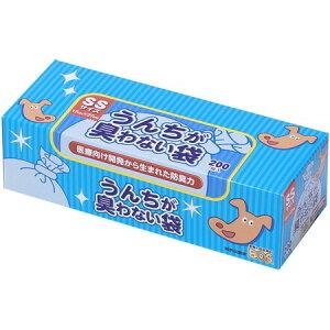 うんちが臭わない袋 BOS ペット用 SSサイズ 200枚入【クリロン化成 ペット 散歩 外出 お出かけ フン トイレ】