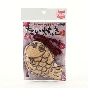 コメット 国産ハミガキおもちゃ たい焼きS【イトスイ ペット おもちゃ 猫 キャット】