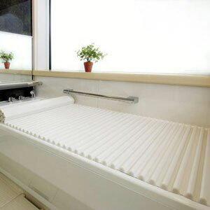 Agカラーイージーウェーブ風呂ふたL14(75×140.7cm)ホワイト(風呂蓋ふた蓋風呂フタ)【RCP】