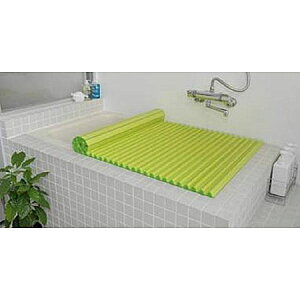 Agカラーイージーウェーブ風呂ふたL16(75×160.4cm)グリーン(風呂蓋ふた蓋風呂フタ)【RCP】