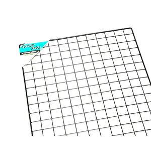 スチールメッシュパネル 黒 1500×600ミリ PJ1565-1