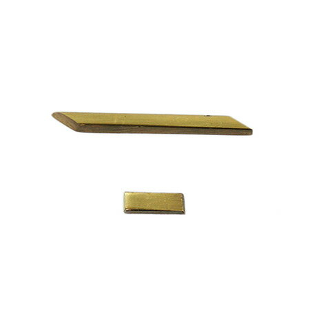 真鍮ゴールド文字 ハイホン・スラッシュ QL20-12