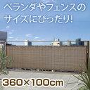 バルコニーシェード GSP-1036M モカ 360×100cm【タカショー バルコニーシェード GSP-1036M モカ 360x100cm 日除け】