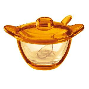 グッチーニ シュガー/パルメザンチーズジャー 231700 45オレンジ【guzzini シュガーボウル シュガーポット 砂糖 テーブルウェア】