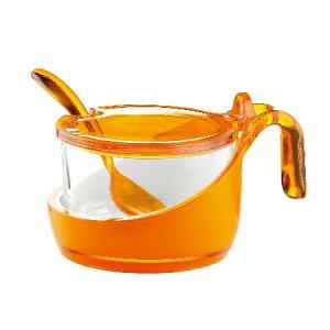 グッチーニ シュガー/パルメザンチーズジャー 248900 45オレンジ【guzzini シュガーボウル シュガーポット 砂糖 テーブルウェア】