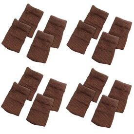 椅子の脚カバー 標準タイプ 4脚分 16枚入【椅子 カバー 脚 ニット 靴下】