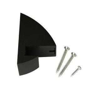 AP-035B クリップシェルフ15 黒【アイワ金属 棚受け 収納 壁棚 シェルフ】