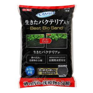 ベストバイオサンド6L【ジェックスペットアクア水槽底砂ソイル】
