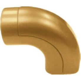 35Nエンドブラケト EL-612G ゴールド【マツ六 安全用品 介護用品 手すり エンドブラケット】