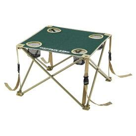 CS コンパクトテーブル(グリーン) M-3886【キャプテンスタッグ アウトドア レジャー キャンプ バーベキュー ファニチャー テーブル 机】