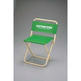 パレットレジャーチェア 中 (ライトグリーン) M-3924【キャプテンスタッグ アウトドア レジャー キャンプ バーベキュー ファニチャー チェアー 椅子】