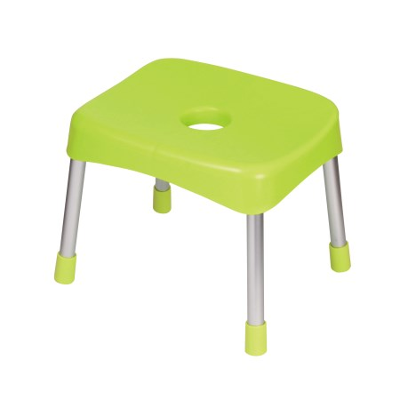 スタイルピュア バススツールワイド30cm(グリーン)【パール金属 風呂 椅子 スツール】