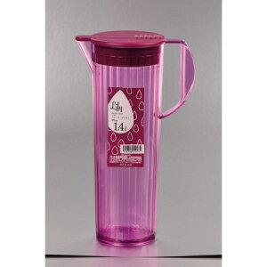 リリーウォーターピッチャー1.4リットル(ワイン)【パール金属キッチン冷水筒ウォーターピッチャー】