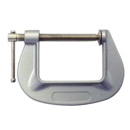 アルミ C型クランプ 75mm【アークランドサカモト 作業工具 接合工具 クランプ Cクランプ】