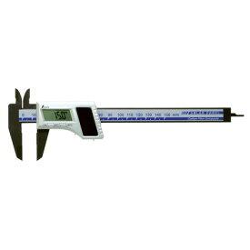 シンワ測定 デジタルノギス カーボンファイバー製 150mm ソーラーパネル 19981【シンワ測定 測定工具 測定工具 精密機器 ノギス】