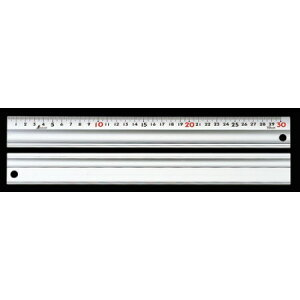 シンワ測定 アルミ直尺 スーパーアル助 30cm コルク板付属 65340【シンワ測定 測定工具 測定工具 直尺 アルミ製】