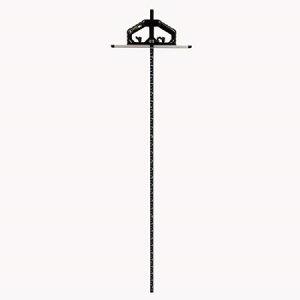 シンワ測定 丸ノコガイド定規 Tスライド  90cm 併用目盛 突き当て可動式 73715【シンワ測定 測定工具 測定 丸鋸定規 丸鋸定規】
