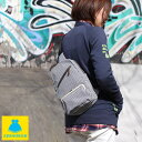 【受注生産品】【バッグ】縦型がま口ボディバッグ【綿布・ヒッコリー】  がま口バッグ 鞄 ユニセックス ワンショルダ…