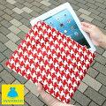 【受注生産品】【ケース】ipadケース(バードチェック)<iPad/KindleFireHD7/XperiaTabletS/タブレット/スマホ/スマートフォン>