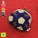 【在庫商品】3.3寸がま口財布【帆布・水引柄】|あやの小路 日本製 京都 がま口 コインケース コイン 小銭 財布 小物 がまぐち
