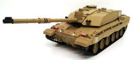 ラジコン戦車完成品ヘンロンHengLong 1/16 チャレンジャー2  2.4GHz(金属ギアボックス・金属キャタピラ・BB・サウンド・発煙仕様)