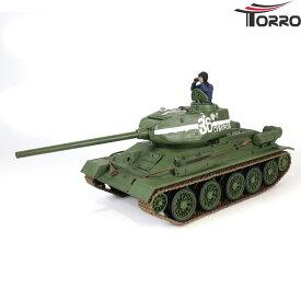Torro/Force of Valor 1/24 T34/85(2.4GHz・デザート迷彩塗装・赤外線バトルシステム・サウンド)T-34/85 1112372002