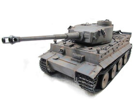 Mato/Clark 1/16 Tiger I 2.4Ghz(フルメタル・赤外線バトルシステム・サウンド・ジャーマングレー塗装仕様・アルミケース) 1220-M-IR-GAC