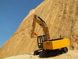 本格重機RC RC4WD 1/12 Scale Earth Digger 4200XL 油圧ショベル (RTR)