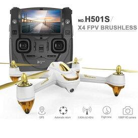 HUBSAN/ハブサン FPV X4 Brushless (H501S)カメラ付きドローン
