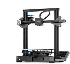 Creality3D Ender3-V2 3Dプリンター (超サイレントTMC2208 、 ブランド電源、カーボランダムガラスプラットフォーム) Creality 3D DIY プリンターキット 未組立 高精度印刷 停電回復機能 最大印刷サイズ 220 * 220 * 250mm