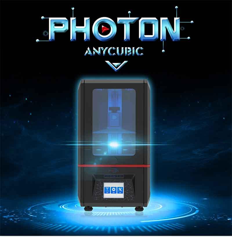Anycubic PHOTON 光造形式 3Dプリンター(オレンジ窓)【正規販売代理店】