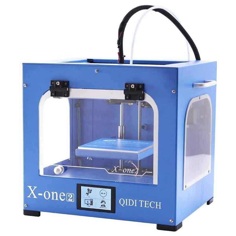 QIDI TECHNOLOGY/チーディーテクノロジー  新世代3Dプリンター:X-one2,金属フレーム構造,プラットフォームヒーター