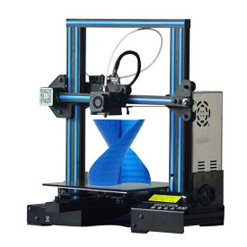 GEEETECH A10 3Dプリンター 一部組立済みDIYキット 220×220×260mm大容量ビルドエリア 3.2インチフルカラータッチスクリーン 停電時復帰機能