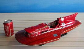 FERRARI ハイドロプレーン, 1954  塗装済完成品(L:50cm ディスプレイモデル)SB0008P-50