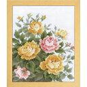 オリムパス ししゅうキット  愛すべき花たち イエローローズ 7449