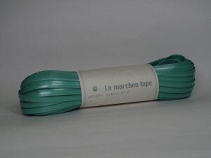 メルヘンアート ラメルヘンテープ 5mm幅 30m巻 <シェルミント> No.222 (3個セット)| メルヘンテープ 手芸 平紐 ビニール