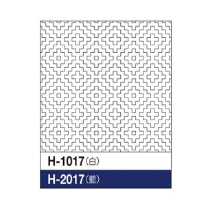Olympus(オリムパス) 刺し子花ふきん布パック(白) 一目刺し柿の花 H-1017