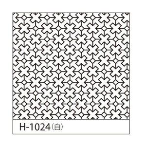 Olympus(オリムパス)刺し子花ふきん布パック(白)クロスつなぎ H-1024