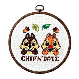 Olympus(オリムパス)クロスステッチししゅうキット ディズニー チップ&デール 7321 | チップとデール 刺繍キット 手芸