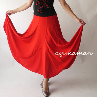 Write extreme popularity ♪★ social dancing ★ flamenco ★ paso doble ★ パソ ★ Fra ★ social dancing ★ review to ♪ social dancing to spread towards flamenco constant seller skirt ★ hem neatly; and the next time