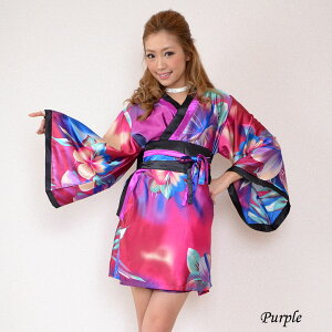 411328eeed9a4 楽天市場 着物ドレス 和風 コスチューム 衣装 0031 M L 着物風ミニ (花 ...