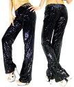 【s-p02】総スパンコール ダンス衣装 ロングパンツ 5637 ダンス イベント ステージ 衣装 HIPHOP ヒップホップ キッズ…