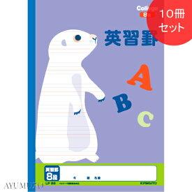 キョクトウ カレッジアニマル学習帳 英習罫8段 B5 10冊セット LP85