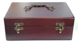 【訳あり】エッセンシャルオイル収納ボックス(24本収納精油保存箱)アロマオイルボックス 精油ボックス エッセンシャルオイル アロマオイル 収納木箱<当店オリジナル>